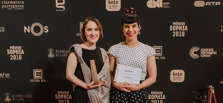 Alice & Mónica nos Prémios Sophia 2019